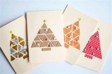 Weihnachtskarten Basteln  44 Einfache Und Kreative Diy Ideen