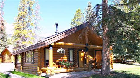 log cabins   canadian rockies youtube