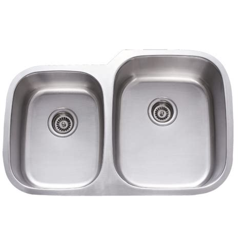 60 40 undermount sink 31 inch stainless steel undermount 40 60 double bowl