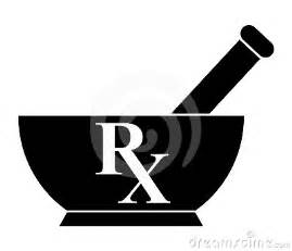 Pharmacy Mortar and Pestle Clip Art