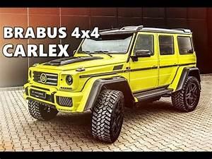 Mercedes Brabus 4x4 : brabus mercedes g500 4x4 by carlex design youtube ~ Medecine-chirurgie-esthetiques.com Avis de Voitures