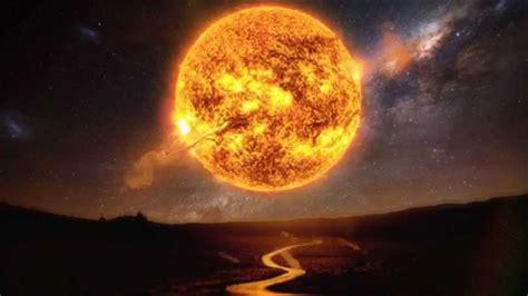 un si鑒e que pasaría si el sol se apagara