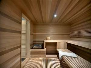 Private modern home sauna design ideas beautiful homes for Sauna design ideas