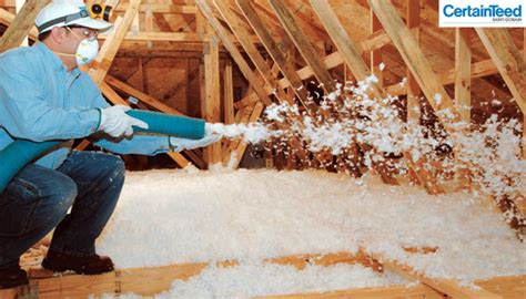 Blowing Insulation Into Your Attic  Insulation Basics