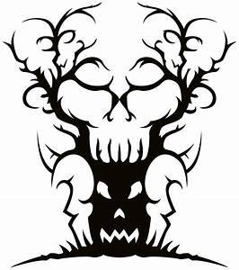 Spooky Tree Clip Art - ClipArt Best