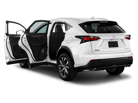 sporty lexus 4 door image 2016 lexus nx 200t fwd 4 door f sport open doors