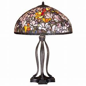meyda 31146 tiffany magnolia table lamp With tiffany magnolia floor lamp