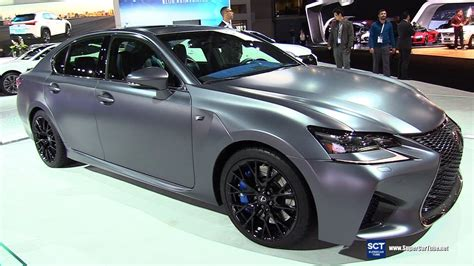 2019 Lexus Gs F  Exterior And Interior Walkaround 2018