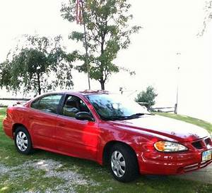 Find Used 2005 Pontiac Grand Am  Red  V6  4 Door  Auto