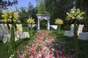 ideas de decoracion de jardines  bodas vix