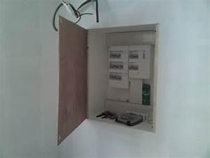 Porte Tableau Electrique : porte de placard electrique renovation d 39 une fermette ~ Premium-room.com Idées de Décoration