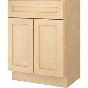 48 inch base cabinet kitchen sink base floor cabinet natural maple shaker 30 33