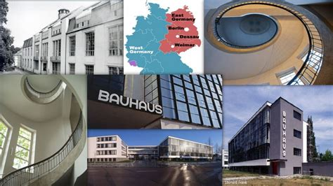 Bauhaus And Its Sites In Weimar And Dessau Gounesco
