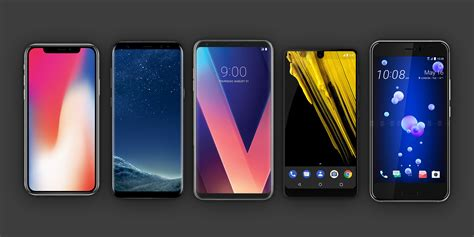 Mobile Phone All by All Of 2017 S Flagship Phones Glaring Compromises