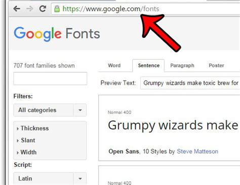How to Install a Google Font in Windows 7 - Solve Your Tech
