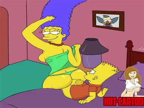 Cartoon Porn Simpsons Porn Marge Fuck His Son Bart Free