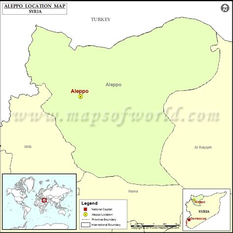 aleppo location  aleppo  syria map