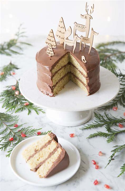 layer cake de noel au chocolat recettes de cuisine