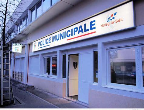 bureau de poste noisy le sec enseigne lumineuse municipale de noisy le sec 93