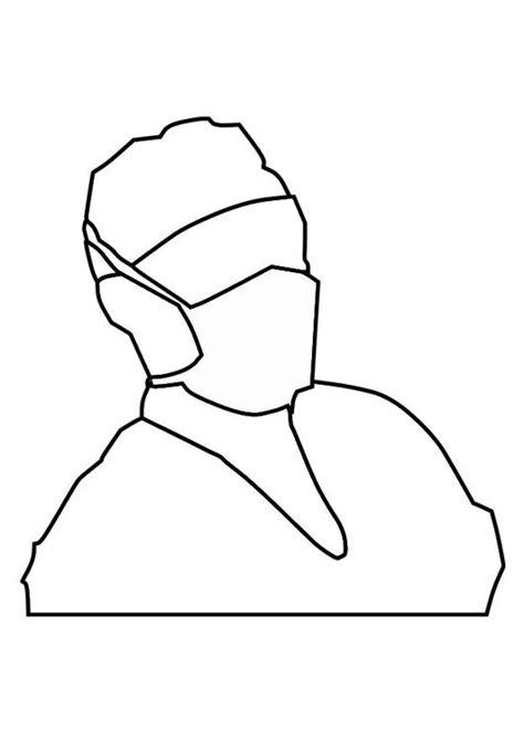 coloriage masque de bouche img