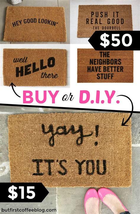 Make A Doormat by 25 Best Ideas About Doormats On Modern Door