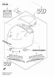 Suzuki Outboard Parts By Year 2013 Oem Parts Diagram For Engine Cover  Df70a E3