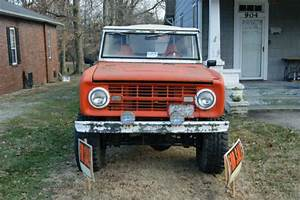 1968 Ford Bronco For Sale With Lots Of Extra Parts  For