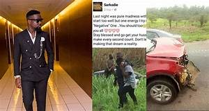 Sarkodie speaks for the first time after surviving car ...
