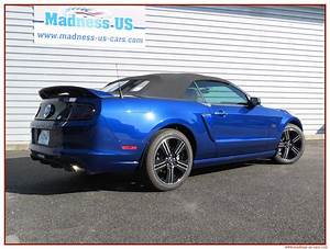 Madness Us Car : ford mustang gt cs cabriolet 2014 ~ Medecine-chirurgie-esthetiques.com Avis de Voitures