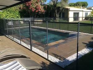 barriere de securite piscine prix bas With barriere de securite piscine beethoven 11 cloture securite beethoven prestige blanche distripool