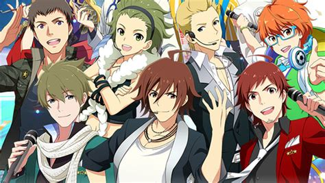 boy idol anime list produce idols in the idolmaster sidem for mobage