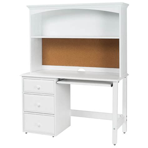 kids white desk with hutch student desk with hutch by maxtrix kids shown in white