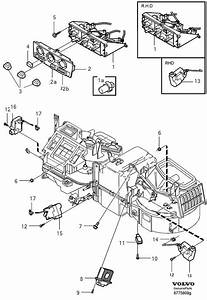 2004 Volvo S40 Relay  Airconditioning