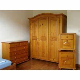 Armoire En Pin Massif : armoire de chambre en pin massif ~ Teatrodelosmanantiales.com Idées de Décoration