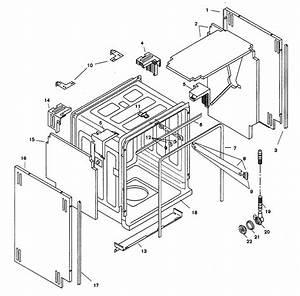 Bosch Shu9955uc  12 Dishwasher Parts
