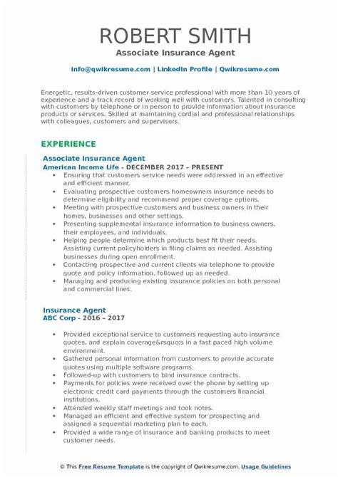 You will be responsible for finding new. 20 Insurance Agent Resume Job Description | Colimatrespuntocero.com
