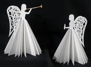 Christmas Tree Toppers Angels by Paper Angels Teamknk