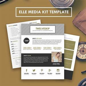 elle media kit With press packet template