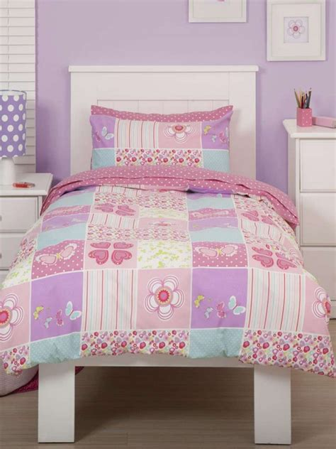 single or double boys or girls duvet quilt cover sets childrens bedding