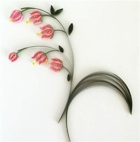 lily of the valley quilled flowers allfreepapercrafts com