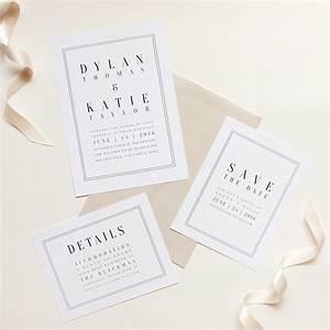 wedding invitation minimalist beautiful top ten wedding With minimalist beach wedding invitations