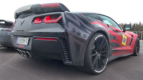 Awesome Corvette C7 Z06 With A New Exhaust Is How
