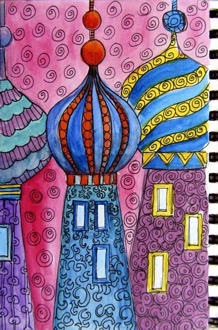 ro bruhn  onion domes art lessons elementary