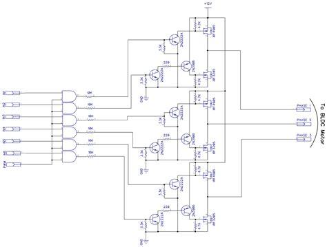 Bldc Motor Controller Using Arduino Three Phase Bridge