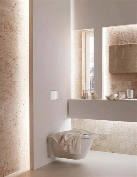 eclairage indirect salle de bain les 25 meilleures id 233 es concernant salle de bains taupe sur murs taupe couleurs de