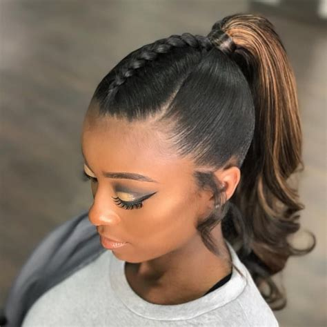 Black Ponytail Hairstyles by 15 Ponytail Hairstyles For Black That Are So Striking