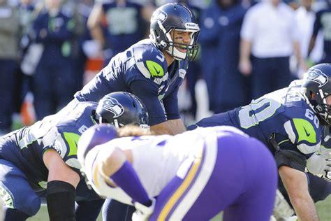 seahawks  vikings precision plays   week field
