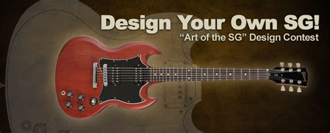 design your own guitar gibson brands contest landing page