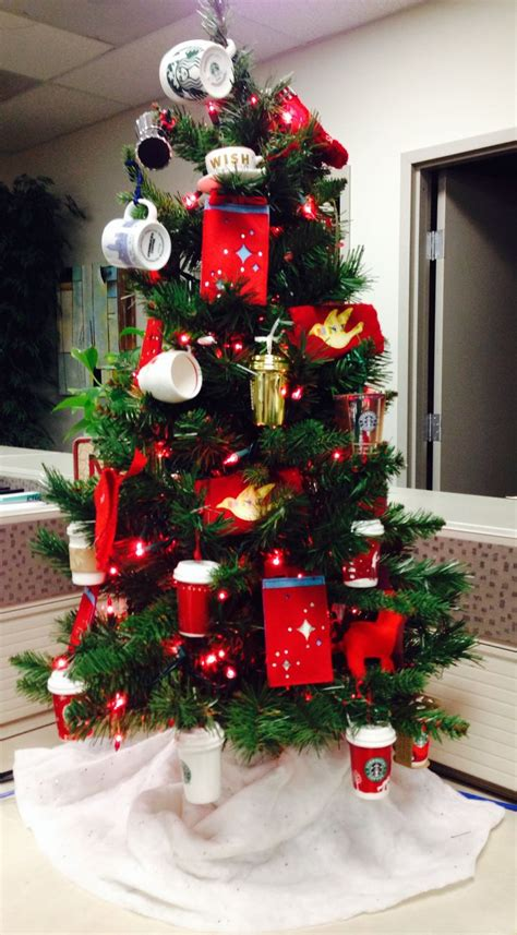 I Love My Starbucks Tree! All My Starbucks Ornaments Over