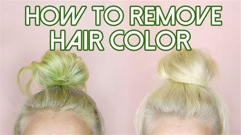 How To Remove Hair Colorstripping For Stained Hair